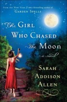 The Girl who chased the moon cover by Sarah Addison Allan