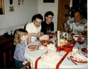 Xmas Dinner 1985