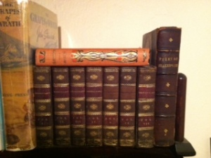 Antique Shakespeare and Frankenstein and Grapes of Wrath