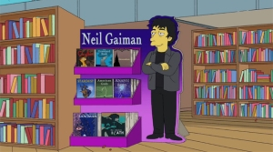 "Neil Gaiman on The Simpsons episode ""The Book Job"""