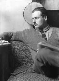 Photograph of Ernest Hemingway by ManRay