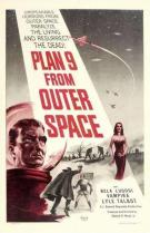 Plan 9 from Outer Space movie poster Ed Wood