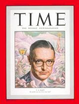 Time Cover T.S. Eliot