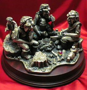 the hobbit trolls pewter